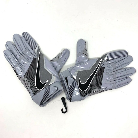 Nike Other - Nike Vapor Jet 4.0 Football Gray Receiver Gloves